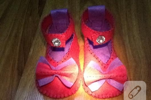 Keçe ayakkabı