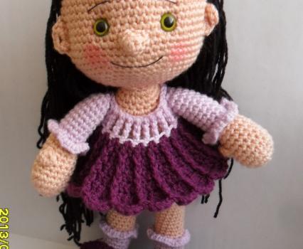 Amazon.com: HYST Pastel Rabbit Handmade Amigurumi Stuffed Toy Knit ...   350x426