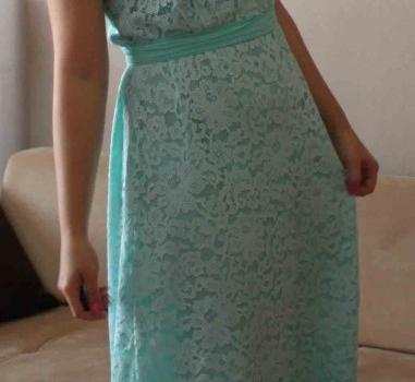 mint yeşili elbise