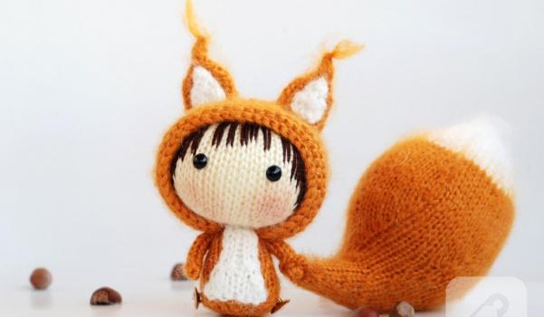 orgu-bebek-sincap-oyuncak