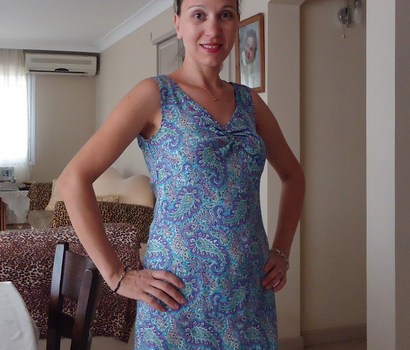 dikis-sal-desenli-elbise-modeli