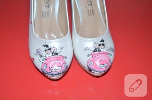 ayakkabı-boyama-gelin-ayakkabisi