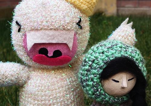 orgu-oyuncak-amigurumi-kar-canavari-ve-eskimo-kiz-yapimi-1