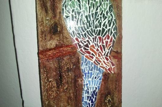 mozaik-papagan-duvar-susu