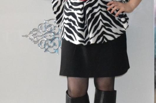 zebra-desenli-pelerin-modelleri