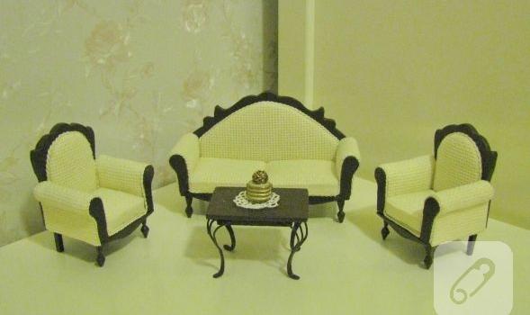 minyatur-el-yapimi-klasik-koltuk-takimi