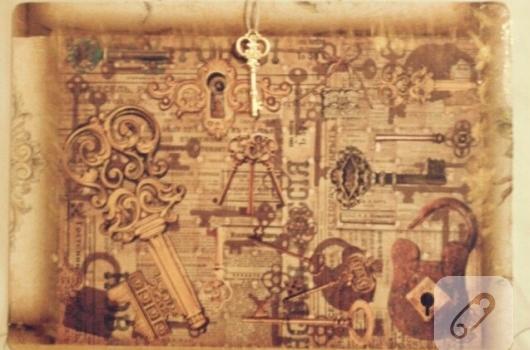 ahsap-vintage-tablo