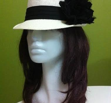 krem hasır şapka 5
