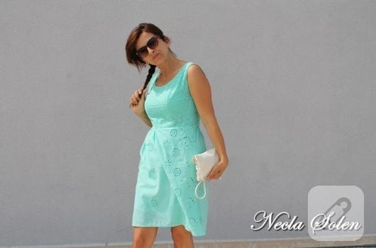 mint-yesili-fisto-elbise-modelleri
