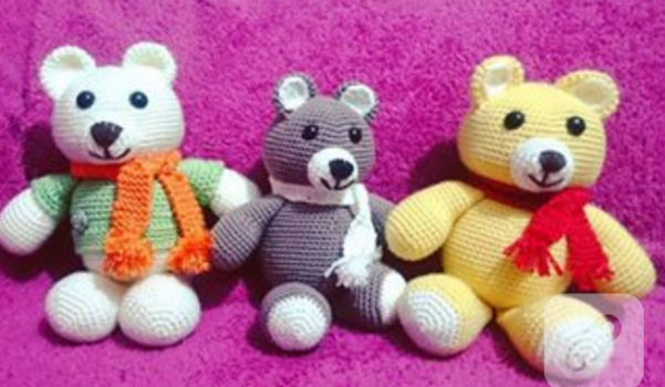 amigurumi-ayi-orgu-oyuncaklar