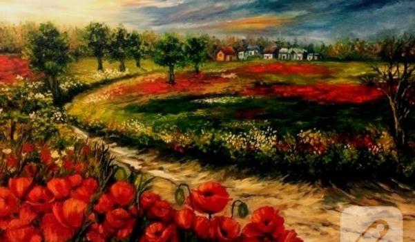 gelincik-tarlasi-yagliboya-resim-ornekleri