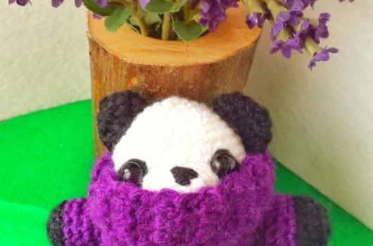 Amigurumi Panda Yapımı 2 | Amigurumi modelleri, Örme olmayan ... | 350x530