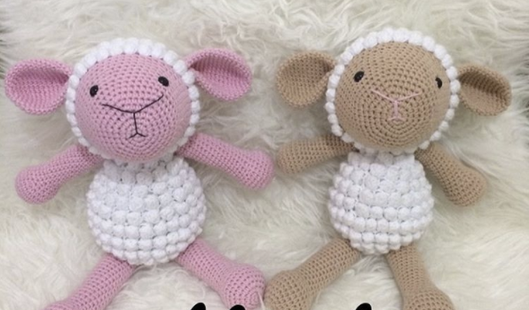Leithygurumi: Amigurumi Sheep Free English Pattern - Design by ... | 350x596