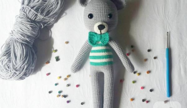 21# Amigurumi yelekli ayıcık yapımı / amigurumi vest teddy bear ... | 350x601