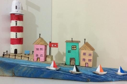 ahsap-minyatur-evler