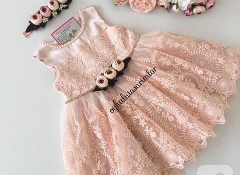 dantel-kiz-cocuk-elbiseleri