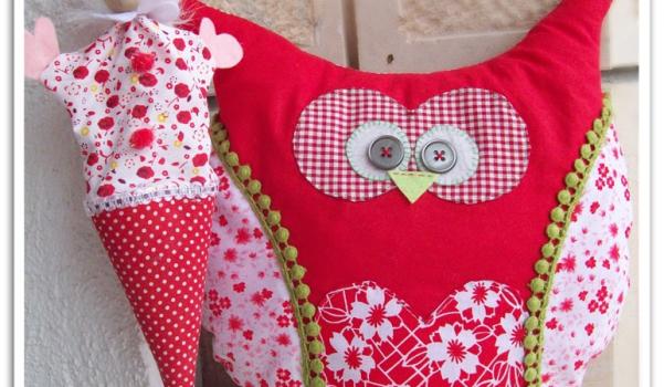 kırmızı baykuş yastık (1)