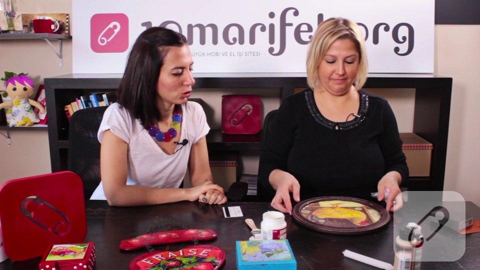 Video: Ahşap boyama-dekupaj işlemi nasıl yapılır?