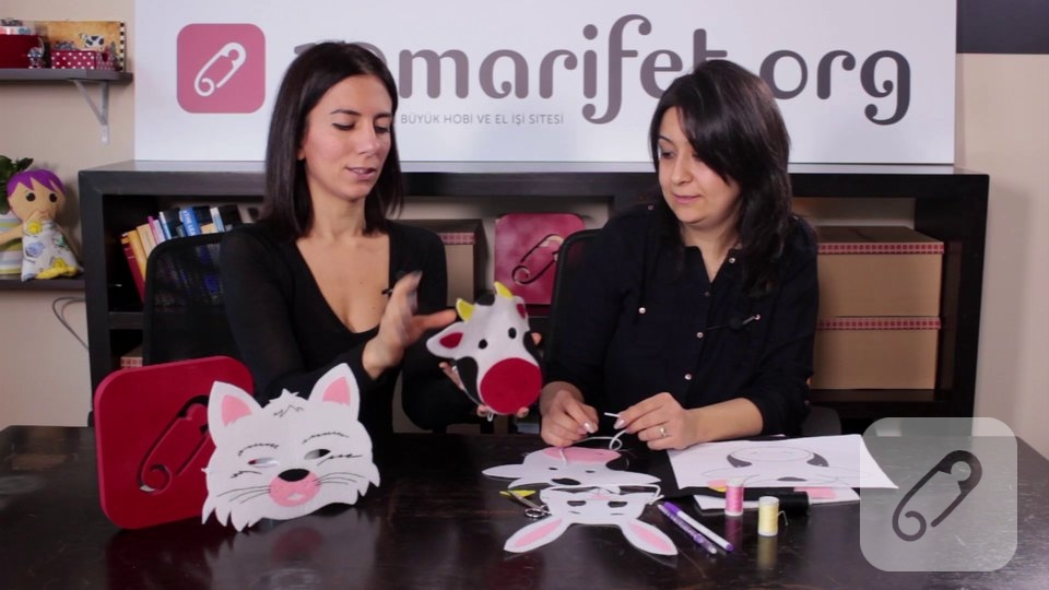 Video – Keçe maske nasıl yapılır?