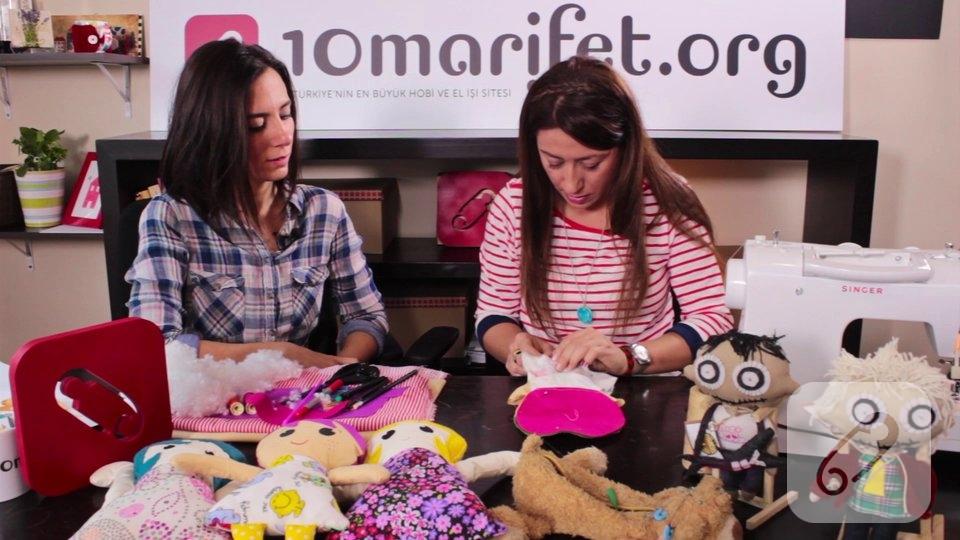 Video – Oyuncak kumaş bebek yapımı-2