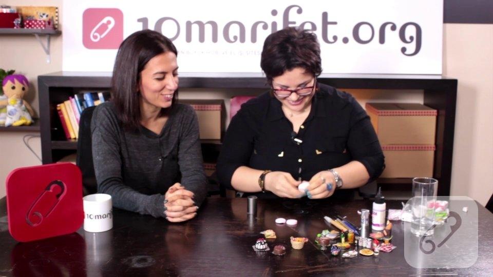 Video  – minyatür fimo pasta nasıl yapılır?