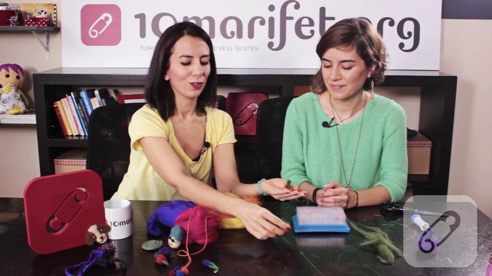 Video: Yün keçe top ile balkabağı nasıl yapılır?