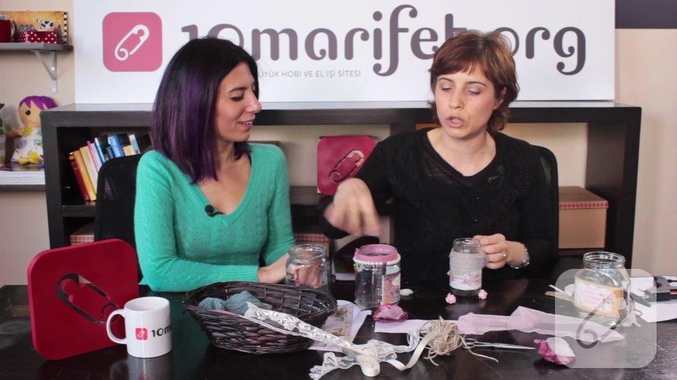 Video: Evdeki malzemelerle kavanoz süsleme nasıl yapılır?