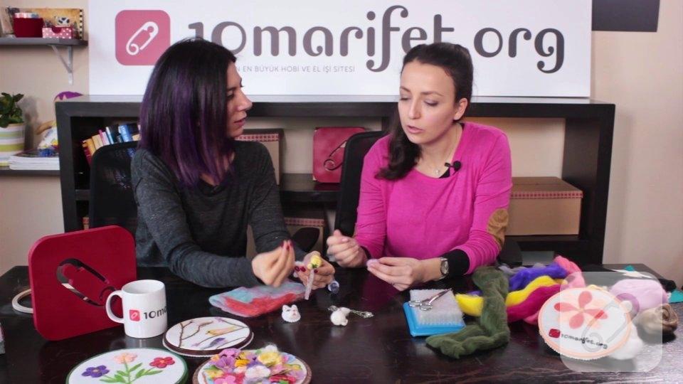 Video: Keçe iğneleme detay nasıl yapılır?