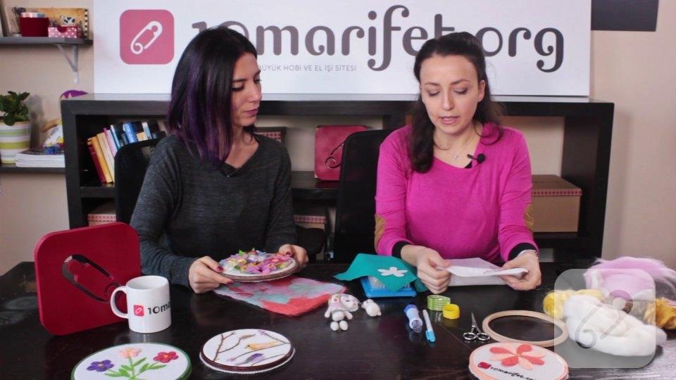Video: Keçe iğneleme pano nasıl yapılır?