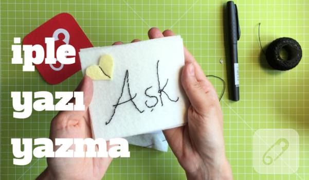 Video: İple yazı nasıl yazılır?