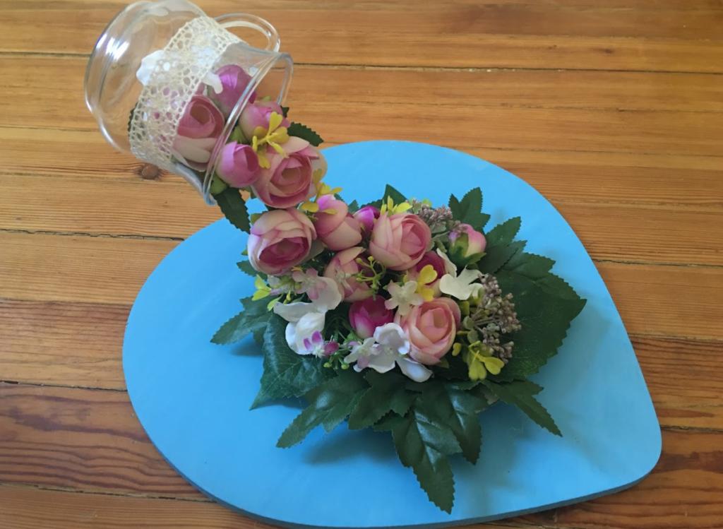 Video: Çiçek şelalesi yapımı