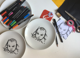 Video: edding porselen kalemleri ile anı tabağı nasıl yapılır?
