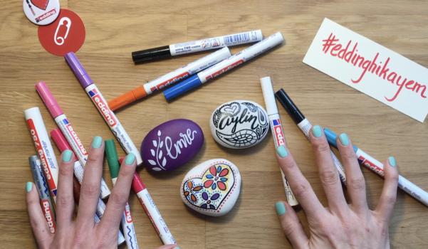 Video: edding ile hediyelik taş boyama fikirleri