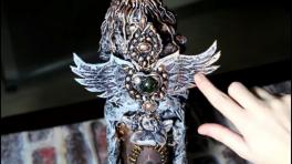 Video: Sanat kili ile melek kanadı yapımı