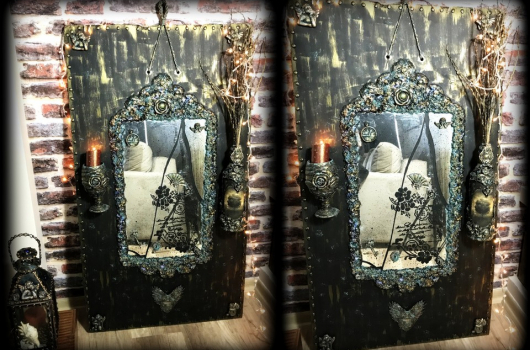Video: Antik görünümlü eskitme ayna