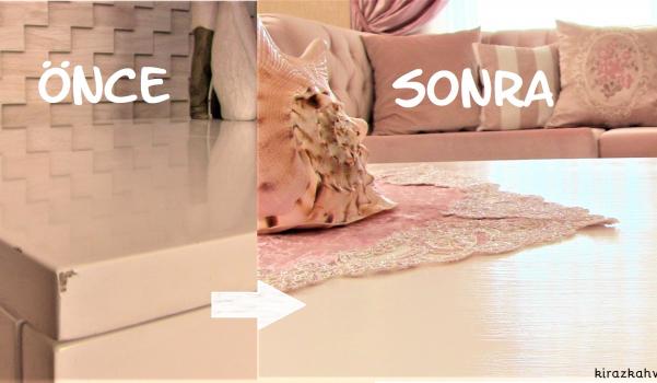 Video: mobilya yenileme, sehpa boyama