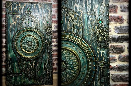 Video: Antik görünümlü ahşap tablo yapımı