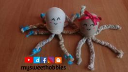 Video: İnce ten çoraptan oyuncak ahtapot yapımı