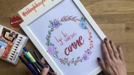 Video: Anneler Günü Hediye Pano Yapımı
