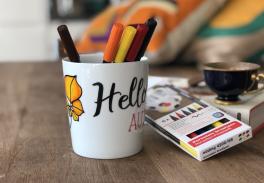 Video: Sonbahar temalı kupa boyama nasıl yapılır?