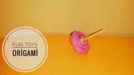 Kağıttan topaç yapımı – origami