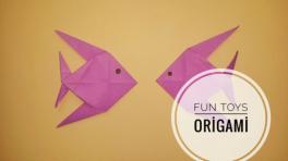 Kağıttan nasıl balık yapılır? Origami