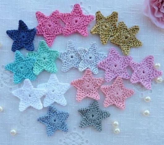 Yaseminkale: amigurumi yıldız yapılışı | 470x530
