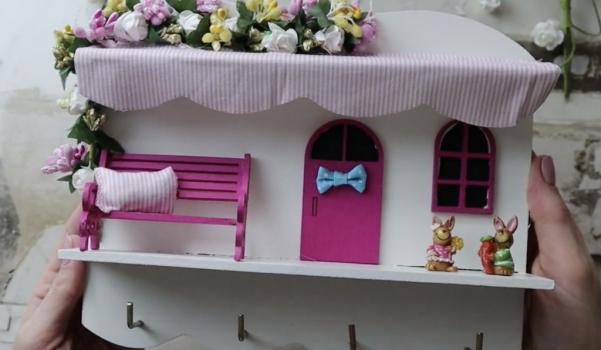 Video: Minyatür ahşap anahtarlık yapımı & hediye çekilişi