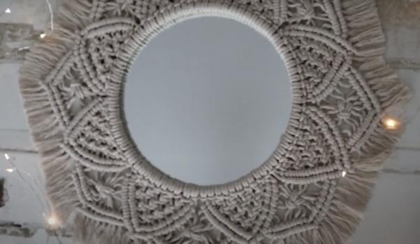 Video: makrome ayna yapımı