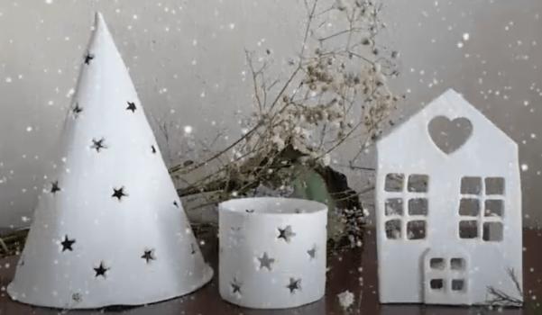 Video: Kilden dekoratif mumluk yapımı