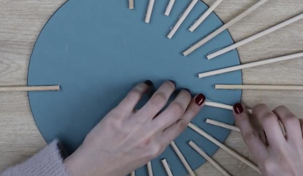 Video: Bohem tarzda ayna süsleme